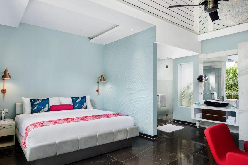 W Goa Vagator Beach Luxury Resort - Goa, India - Cozy Cottage Bedroom