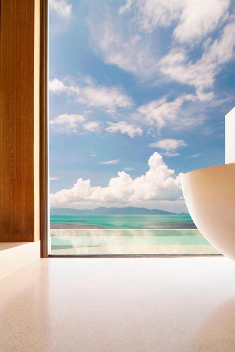 W Koh Samui Luxury Resort - Thailand - Ocean View Escape Villa Bathroom