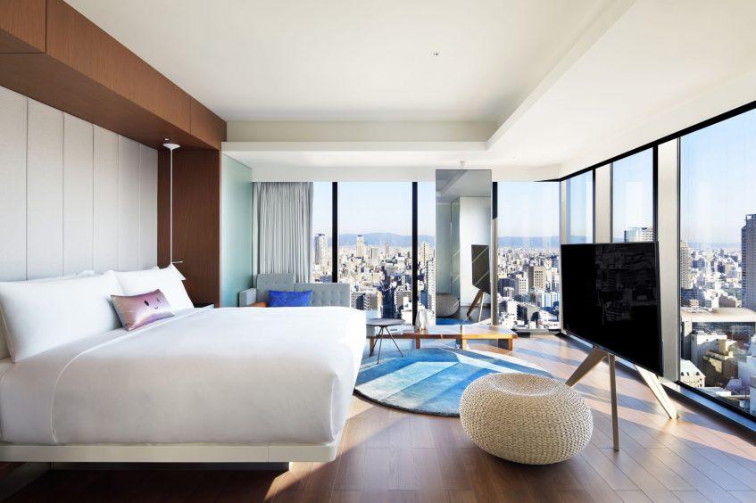 W Osaka Luxury Hotel - Osaka, Japan - Marvelous King Suite