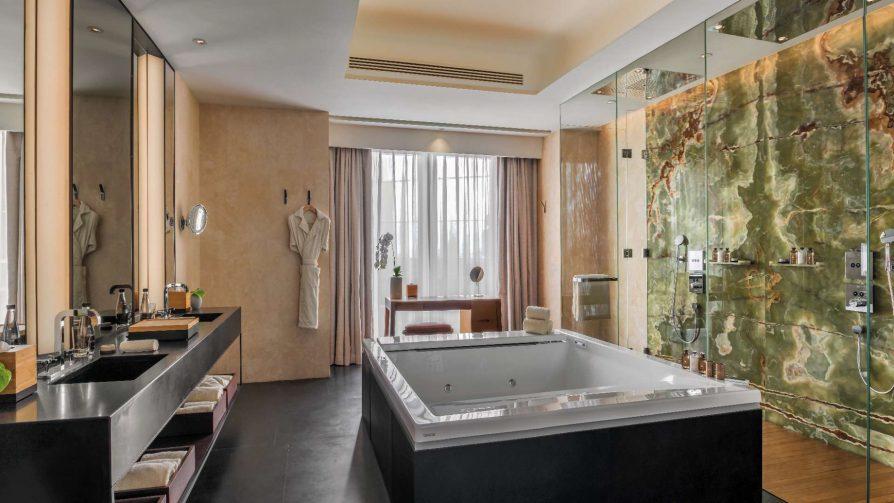 Bvlgari Luxury Hotel Beijing - Beijing, China - Bulgari Suite Bathroom