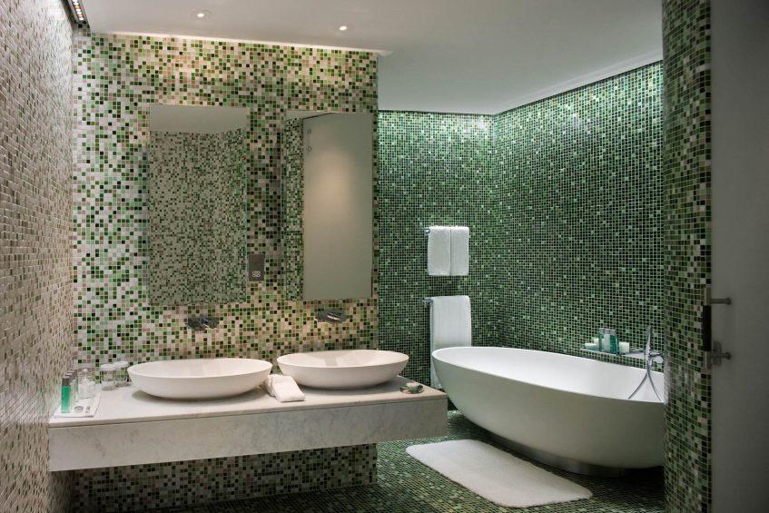 W Abu Dhabi Yas Island Luxury Hotel - Abu Dhabi, UAE - WOW Suite Bathroom