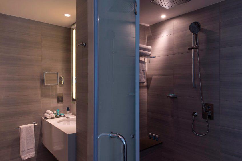 W Amman Luxury Hotel - Amman, Jordan - Marvelous Bathroom Shower_
