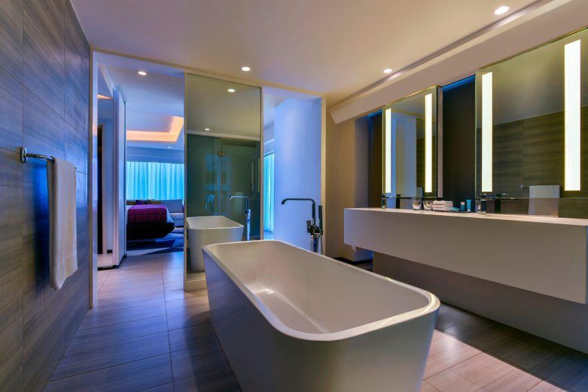 W Amman Luxury Hotel - Amman, Jordan - Marvelous Bathroom Tub