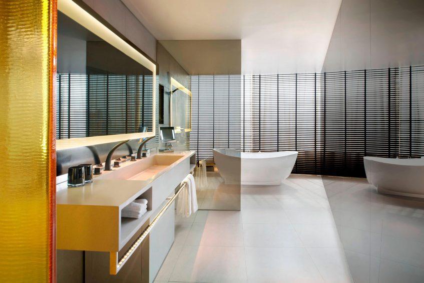 W Bangkok Luxury Hotel - Bangkok, Thailand - Studio Suite Bathroom