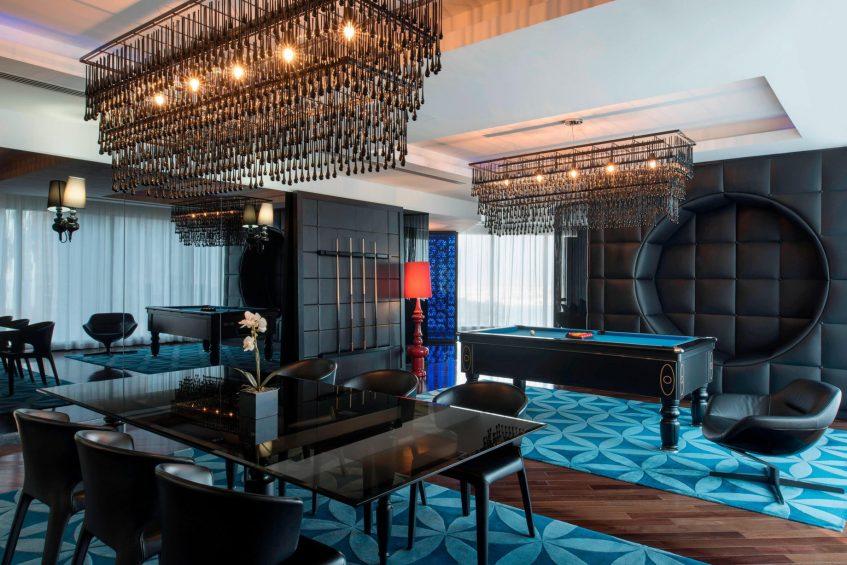 W Doha Luxury Hotel - Doha, Qatar - E WOW Suite Dining Room