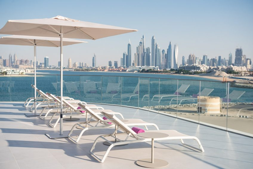 W Dubai The Palm Luxury Resort - Dubai, UAE - WOW Balcony
