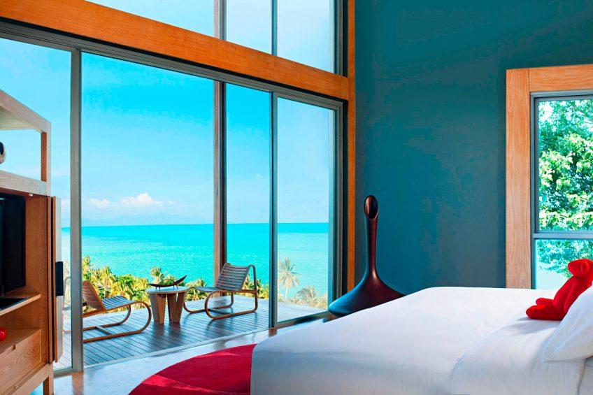 W Koh Samui Luxury Resort - Thailand - Residence Master Bedroom