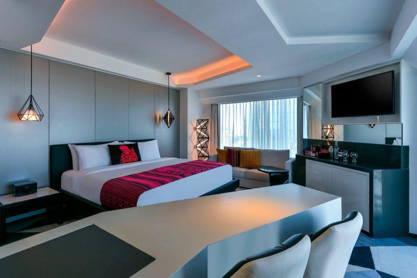 W Amman Luxury Hotel - Amman, Jordan - Marvelous City View Room Bedroom