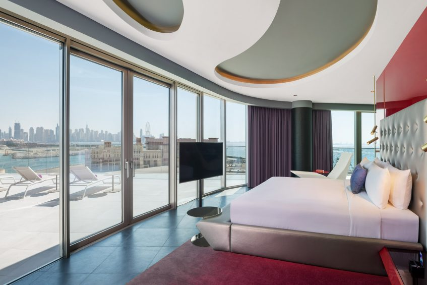 W Dubai The Palm Luxury Resort - Dubai, UAE - WOW Suite King Guestroom