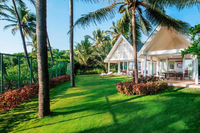 W Goa Vagator Beach Luxury Resort - Goa, India - WOW Two Bedroom Villa Exterior