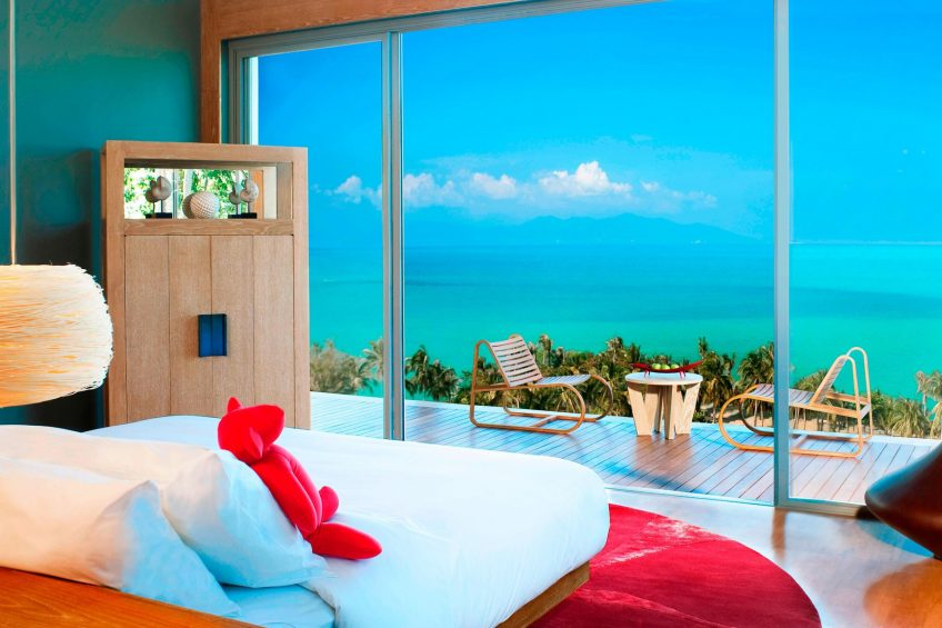 W Koh Samui Luxury Resort - Thailand - Residence Villa Bedroom Ocean View