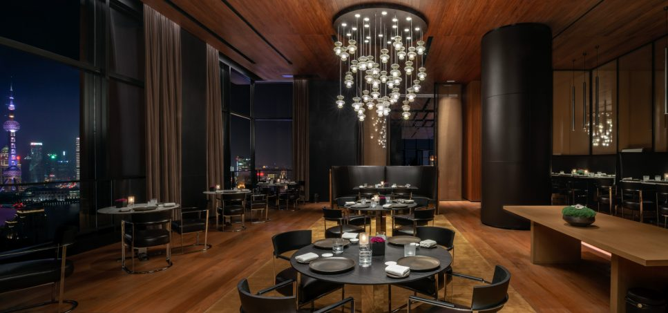 Bvlgari Luxury Hotel Shanghai - Shanghai, China - Il Ristorante Night View