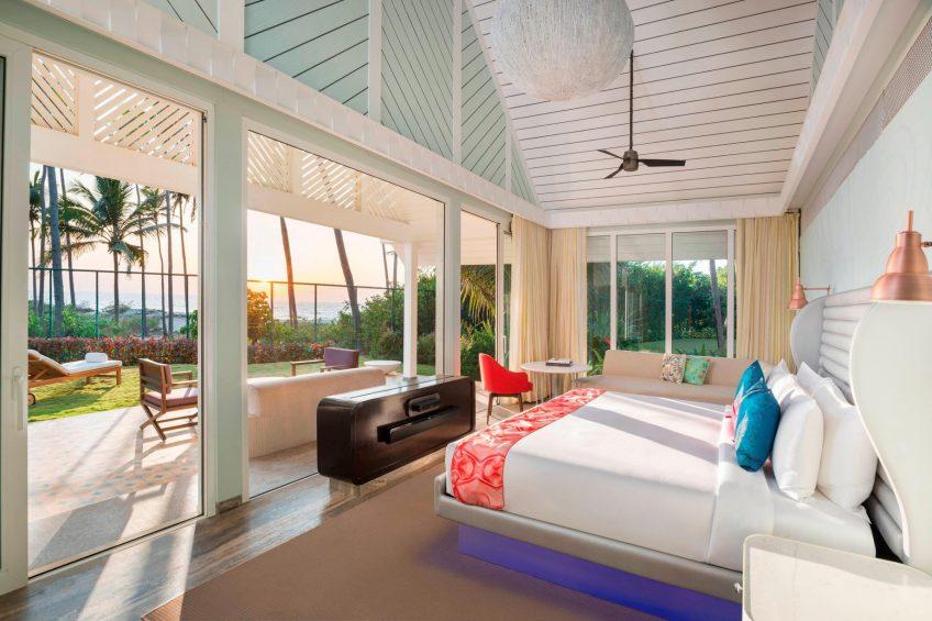W Goa Vagator Beach Luxury Resort - Goa, India - WOW Two Bedroom Villa Bedroom