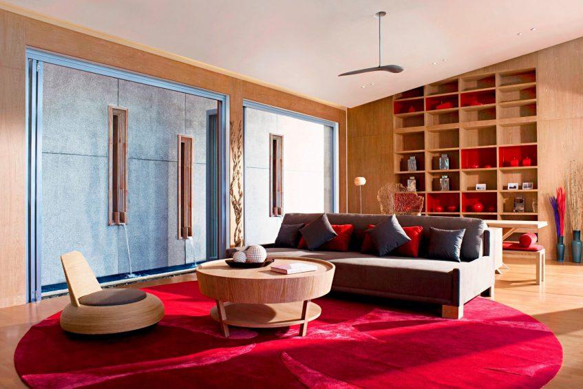 W Koh Samui Luxury Resort - Thailand - Residence Villa Deluxe Living Room