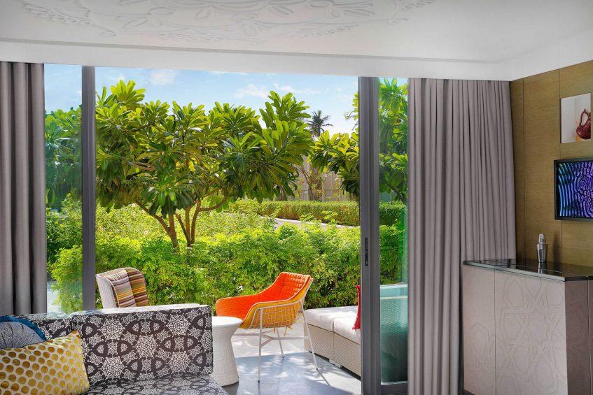 W Muscat Luxury Resort - Muscat, Oman - Spectacular Room Terrace