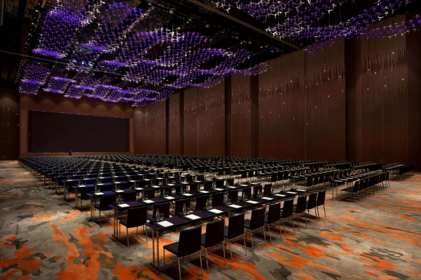W Xi'an Luxury Hotel - Xi'an, Shaanxi Province, China - Great Room Confrence Setup