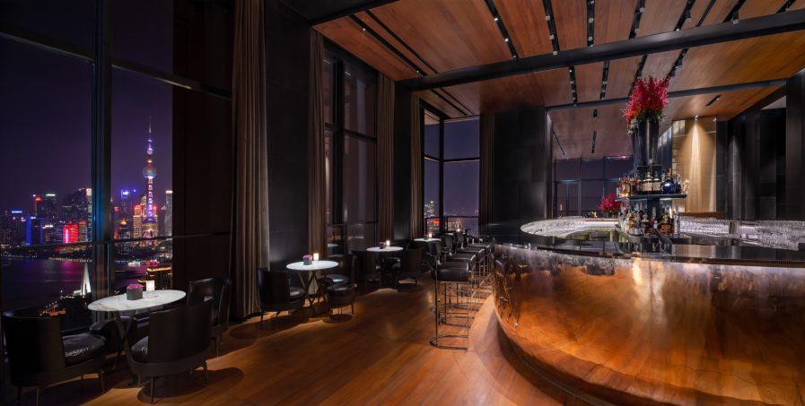 Bvlgari Luxury Hotel Shanghai - Shanghai, China - Il Bar Night View