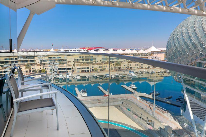 W Abu Dhabi Yas Island Luxury Hotel - Abu Dhabi, UAE - Fabulous Suite Balcony View