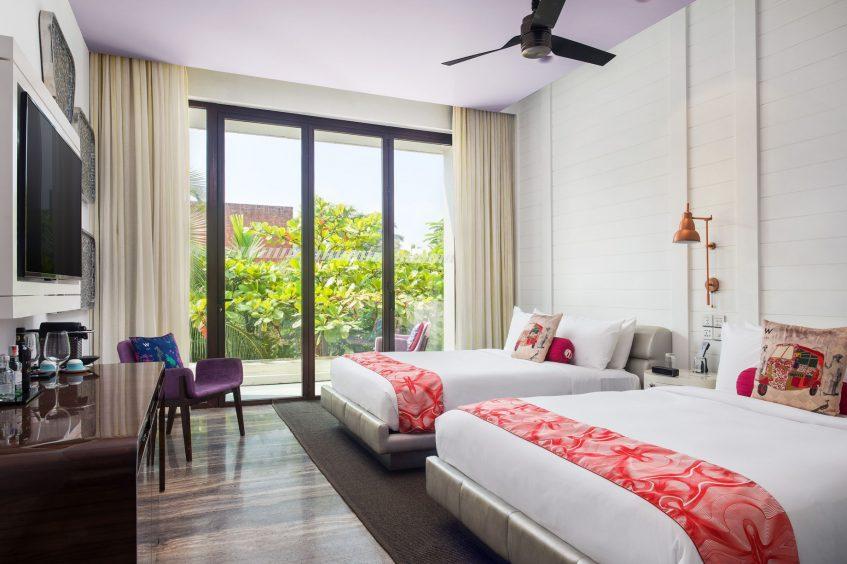 W Goa Vagator Beach Luxury Resort - Goa, India - Wonderful Guest Room Queen