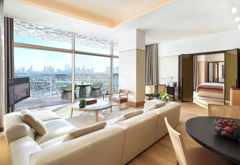 Bvlgari Luxury Resort Dubai - Jumeira Bay Island, Dubai, UAE - Guest Suite Living Room