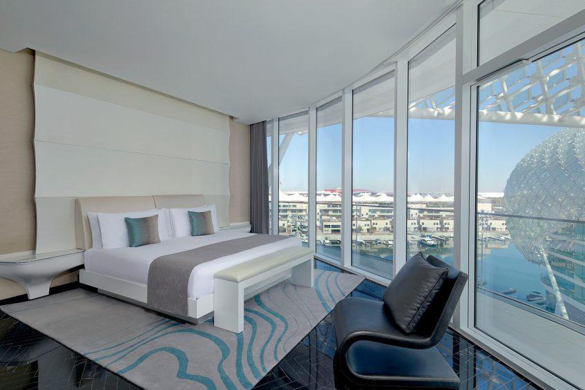 W Abu Dhabi Yas Island Luxury Hotel - Abu Dhabi, UAE - Fabulous Suite King Bedroom