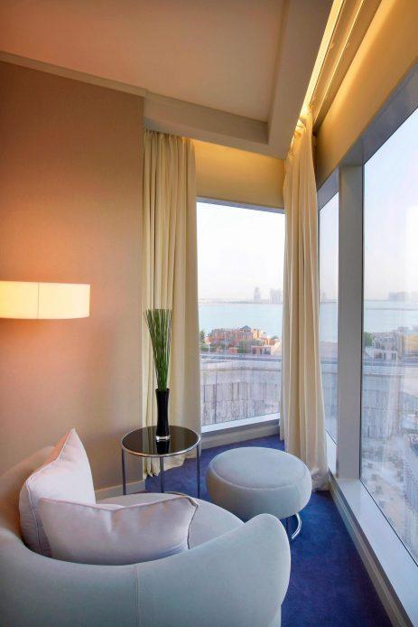 W Doha Luxury Hotel - Doha, Qatar - Cool Corner Suite Sitting Area