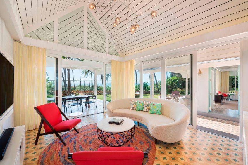 W Goa Vagator Beach Luxury Resort - Goa, India - WOW Two Bedroom Villa Living Room