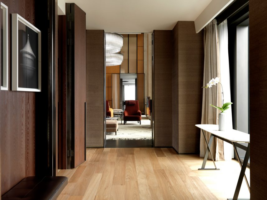 Bvlgari Luxury Hotel Beijing - Beijing, China - Guest Suite Decor