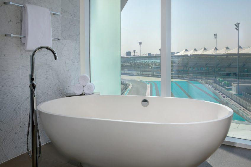 W Abu Dhabi Yas Island Luxury Hotel - Abu Dhabi, UAE - Fabulous Suite Bathroom Tub