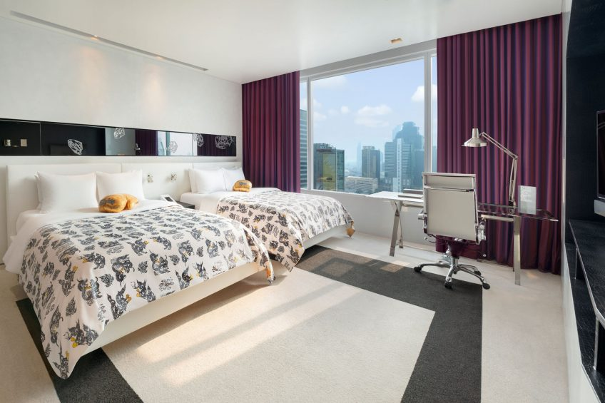 W Bangkok Luxury Hotel - Bangkok, Thailand - Wonderful Guest Room Twin