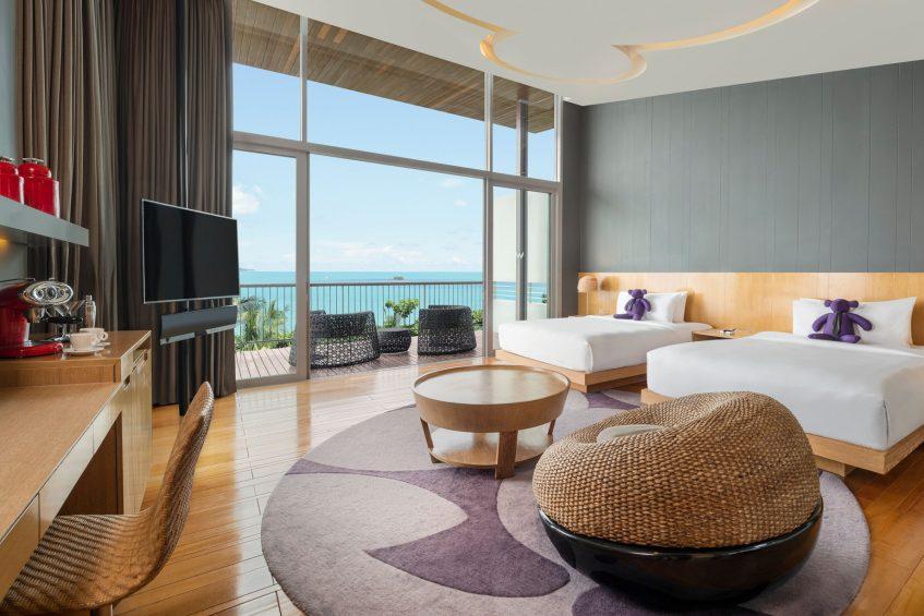 W Koh Samui Luxury Resort - Thailand - Twin Extreme Wow Ocean Haven Villa