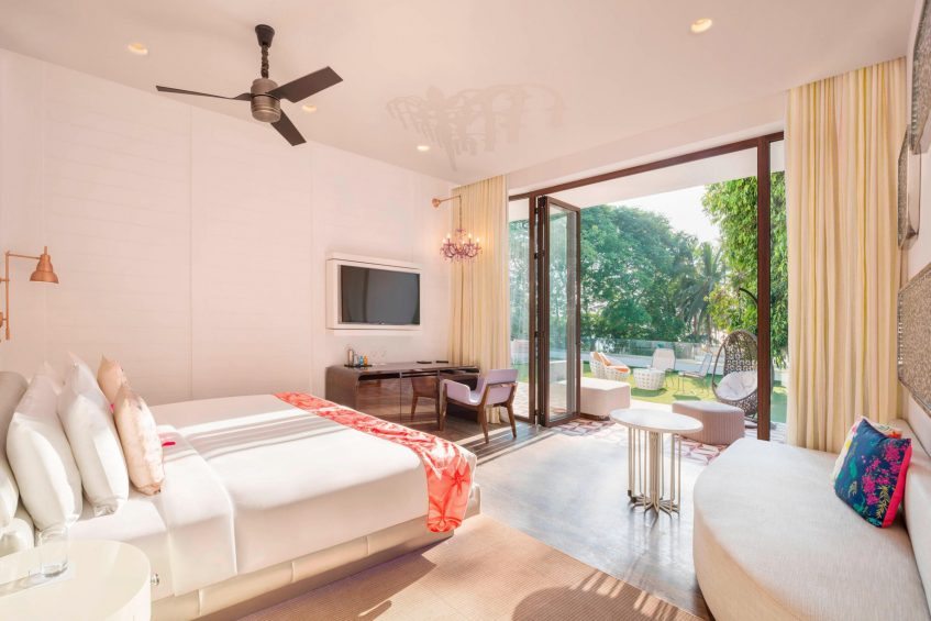 W Goa Vagator Beach Luxury Resort - Goa, India - Spectacular Bedroom
