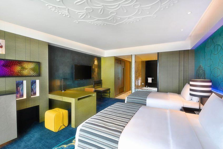 W Muscat Luxury Resort - Muscat, Oman - Wonderful Guest Room Twin