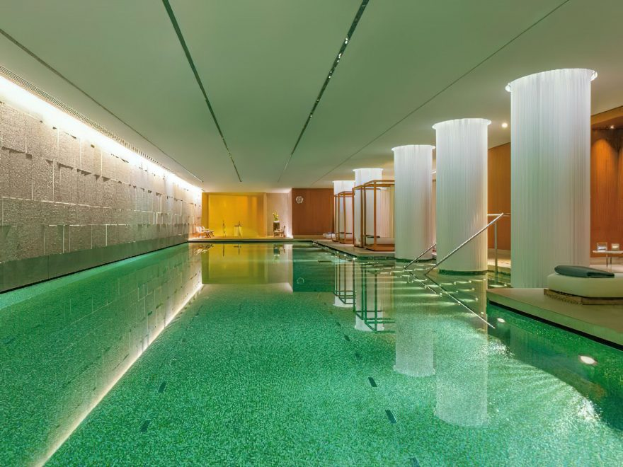 Bvlgari Luxury Hotel London - Knightsbridge, London, UK - Bvlgari Pool View