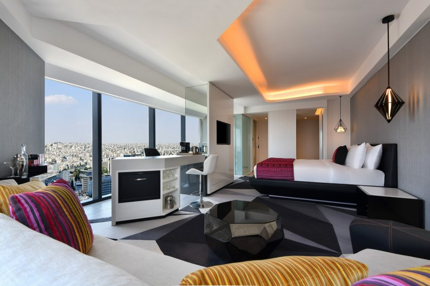 W Amman Luxury Hotel - Amman, Jordan - Mega Guest Room King