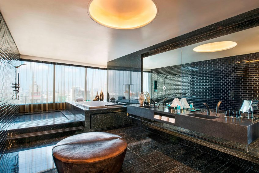W Bangkok Luxury Hotel - Bangkok, Thailand - Wow Suite Bathroom