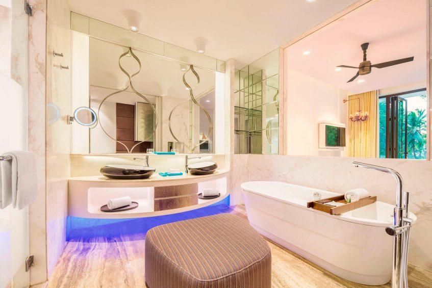 W Goa Vagator Beach Luxury Resort - Goa, India - Spectacular Room Bathroom Tub