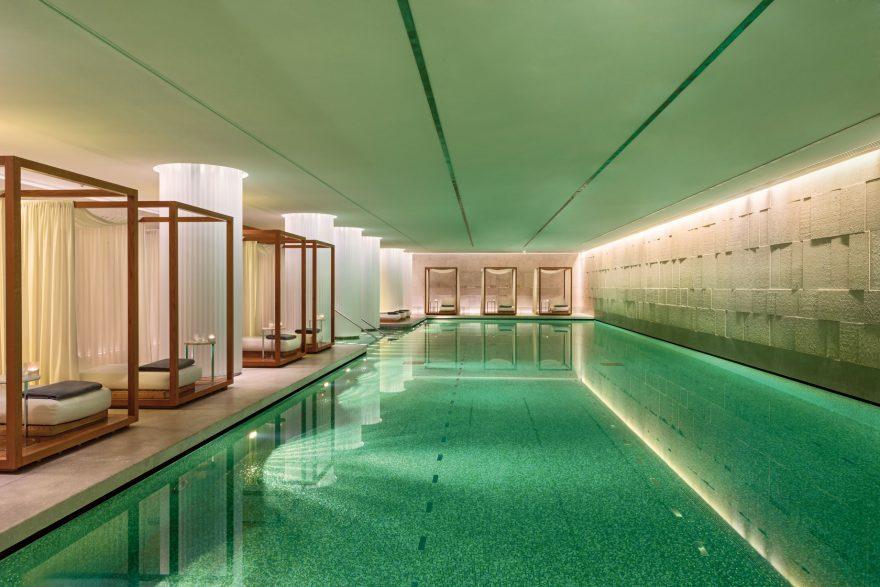 Bvlgari Luxury Hotel London - Knightsbridge, London, UK - Bvlgari Pool with Private Cabanas
