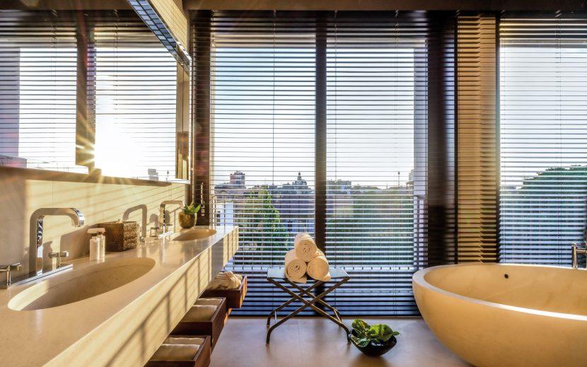 Bvlgari Luxury Hotel Milano - Milan, Italy - Bvlgari Suite Bathroom
