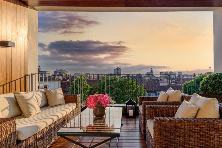 Bvlgari Luxury Hotel Milano - Milan, Italy - Bvlgari Suite Private Deck