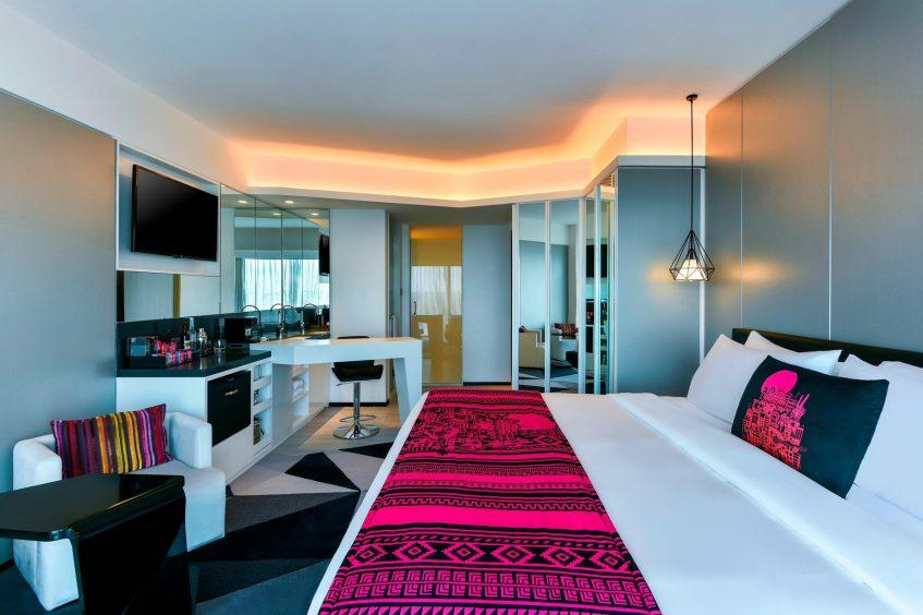 W Amman Luxury Hotel - Amman, Jordan - Spectacular City View Room