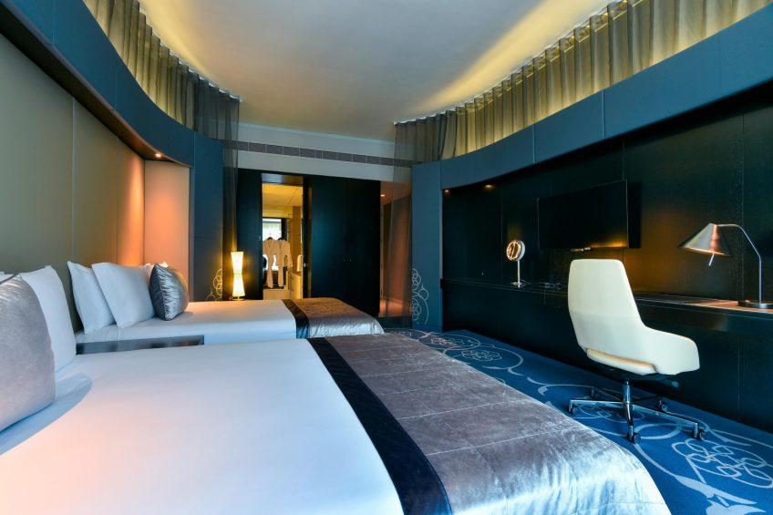 W Doha Luxury Hotel - Doha, Qatar - Twin Guest Room