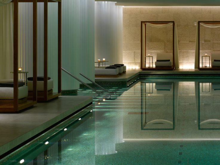 Bvlgari Luxury Hotel London - Knightsbridge, London, UK - Bvlgari Pool Private Cabanas