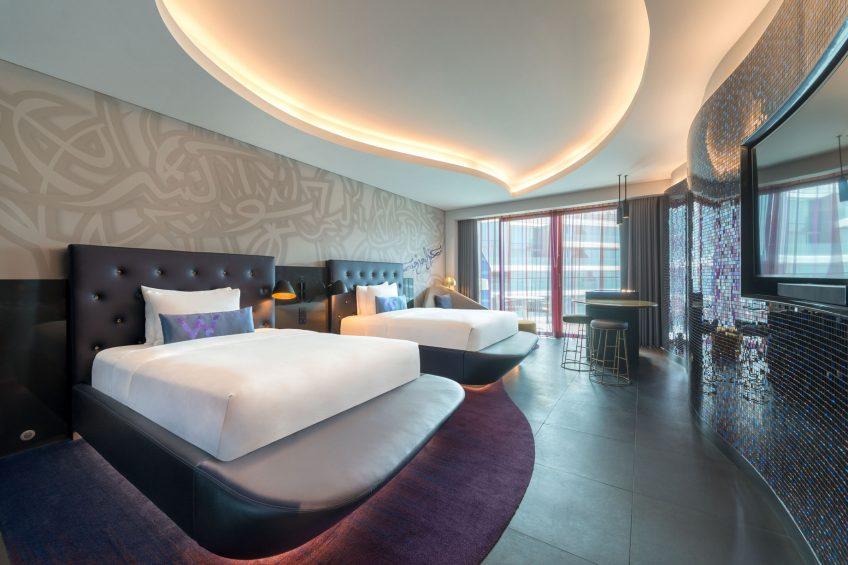 W Dubai The Palm Luxury Resort - Dubai, UAE - Double Wonderful Guest Room
