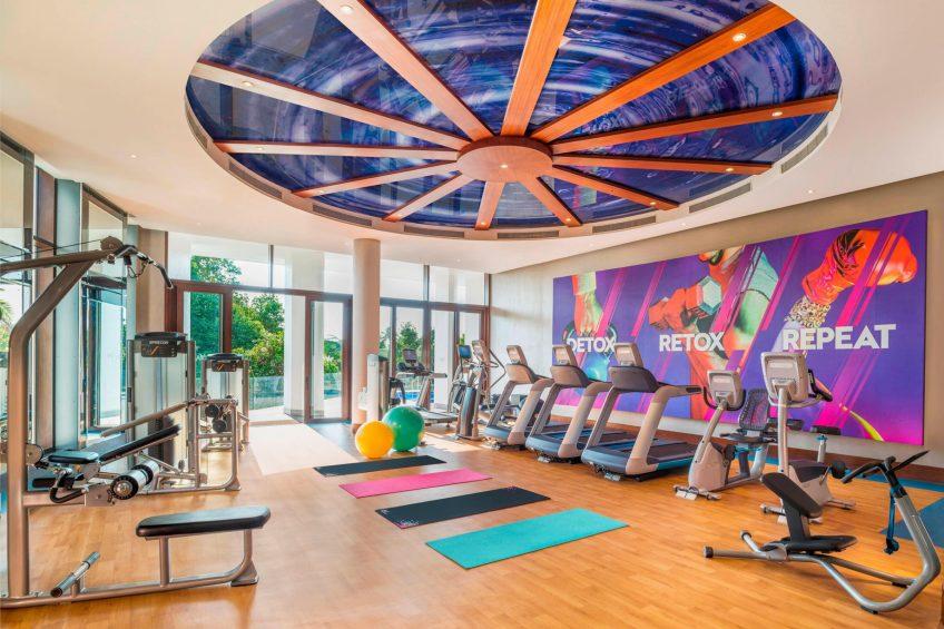 W Goa Vagator Beach Luxury Resort - Goa, India - Fit Gym