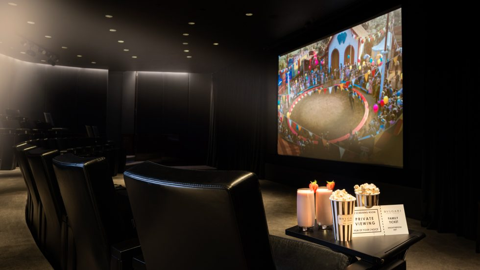 Bvlgari Luxury Hotel London - Knightsbridge, London, UK - Bvlgari Hotel Family Movie Screening