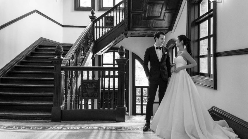 Bvlgari Luxury Hotel Shanghai - Shanghai, China - Hotel Wedding Reception