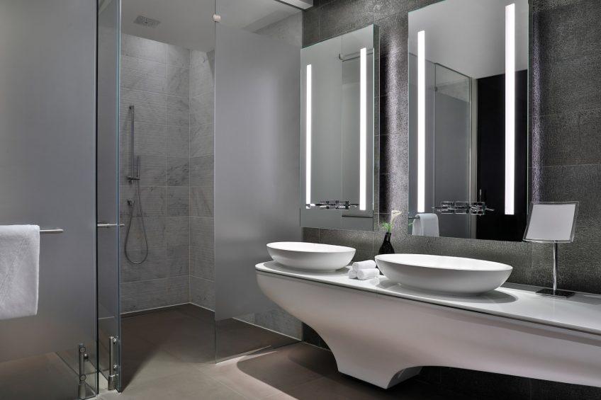 W Abu Dhabi Yas Island Luxury Hotel - Abu Dhabi, UAE - Fantastic Suite Bathroom Vanity
