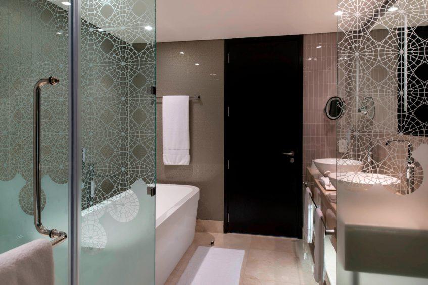 W Doha Luxury Hotel - Doha, Qatar - WOW Suite Bathroom