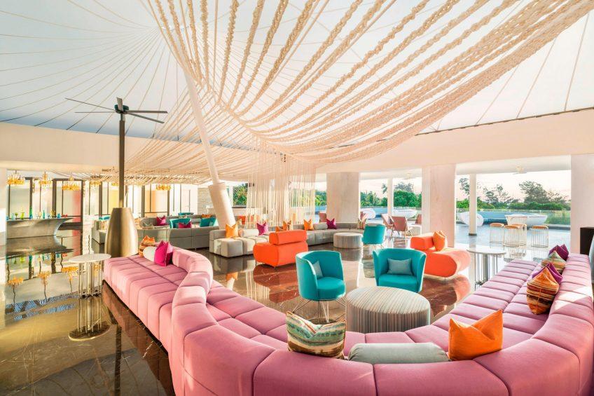 W Goa Vagator Beach Luxury Resort - Goa, India - Living Room Lobby Seating